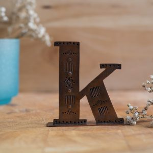 Copper Type - Letter K