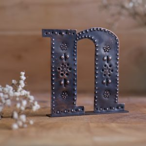 Copper Type - Letter N