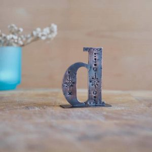 Copper Type - Letter D