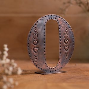 Copper Type - Letter O