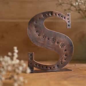 Copper Type - Letter S