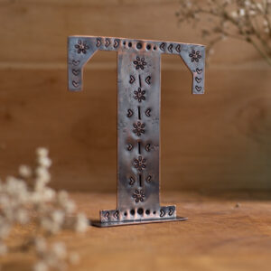 Copper Type - Letter T