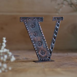 Copper Type - Letter V