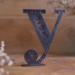 Copper Type - Letter Y