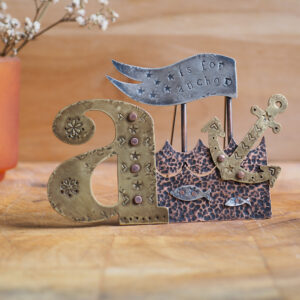 Milomade Little Stories Collection - A is for Anchor