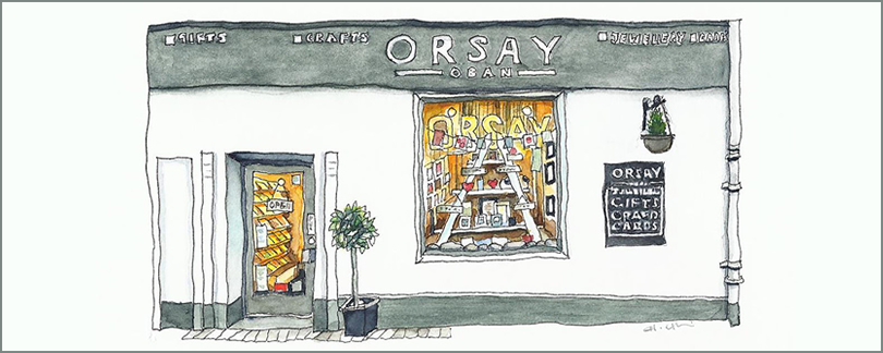Orsay Oban is now stocking Milomade