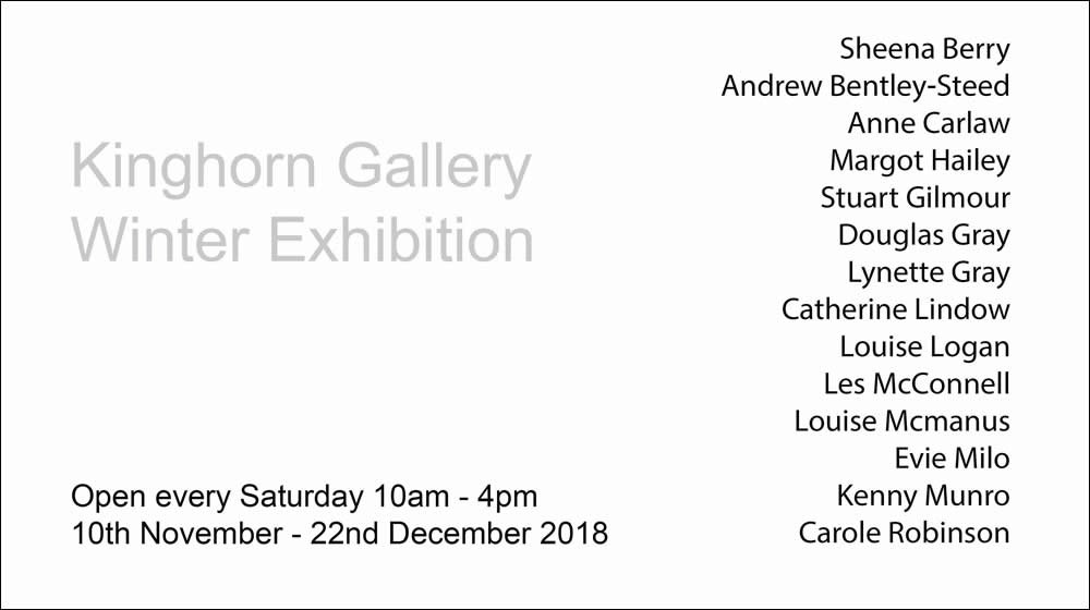 Kinghorn Station Gallery - Winter Exhibition