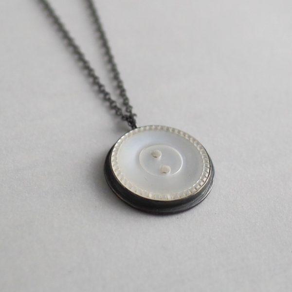 Sale - Heirloom Button Pendants