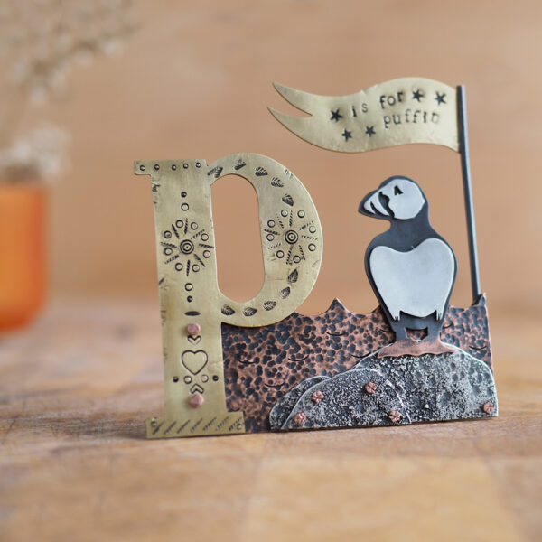 Milomade Little Stories Collection - P is for Puffin