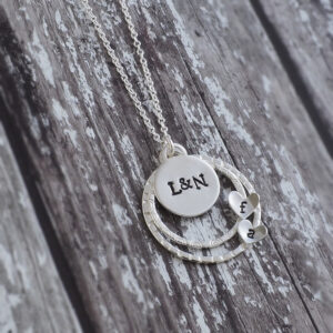 Perrsonalised Jewellery - Personalised Heart Pendant