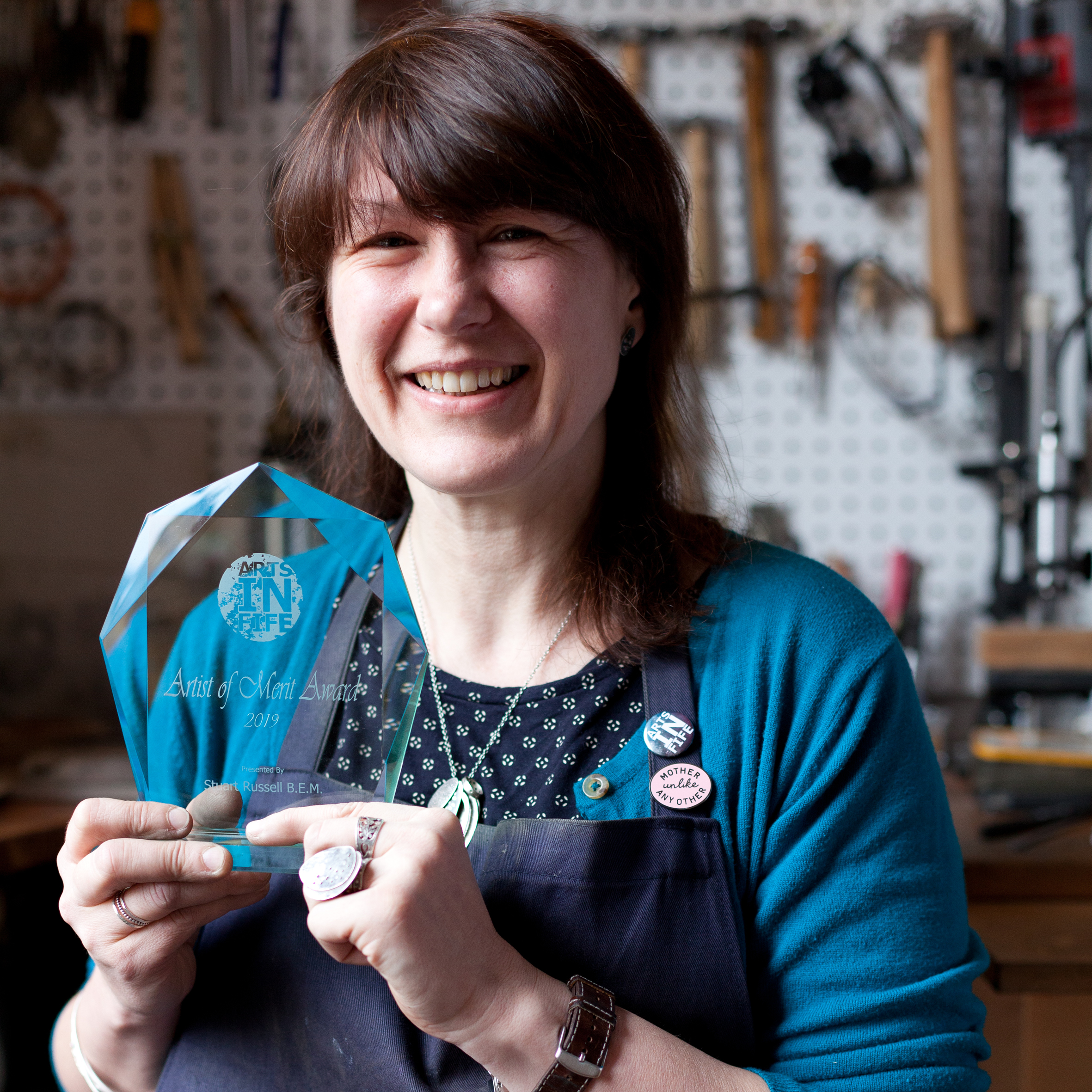 Fife jeweller has taken home the 2019 Artist of Merit Award