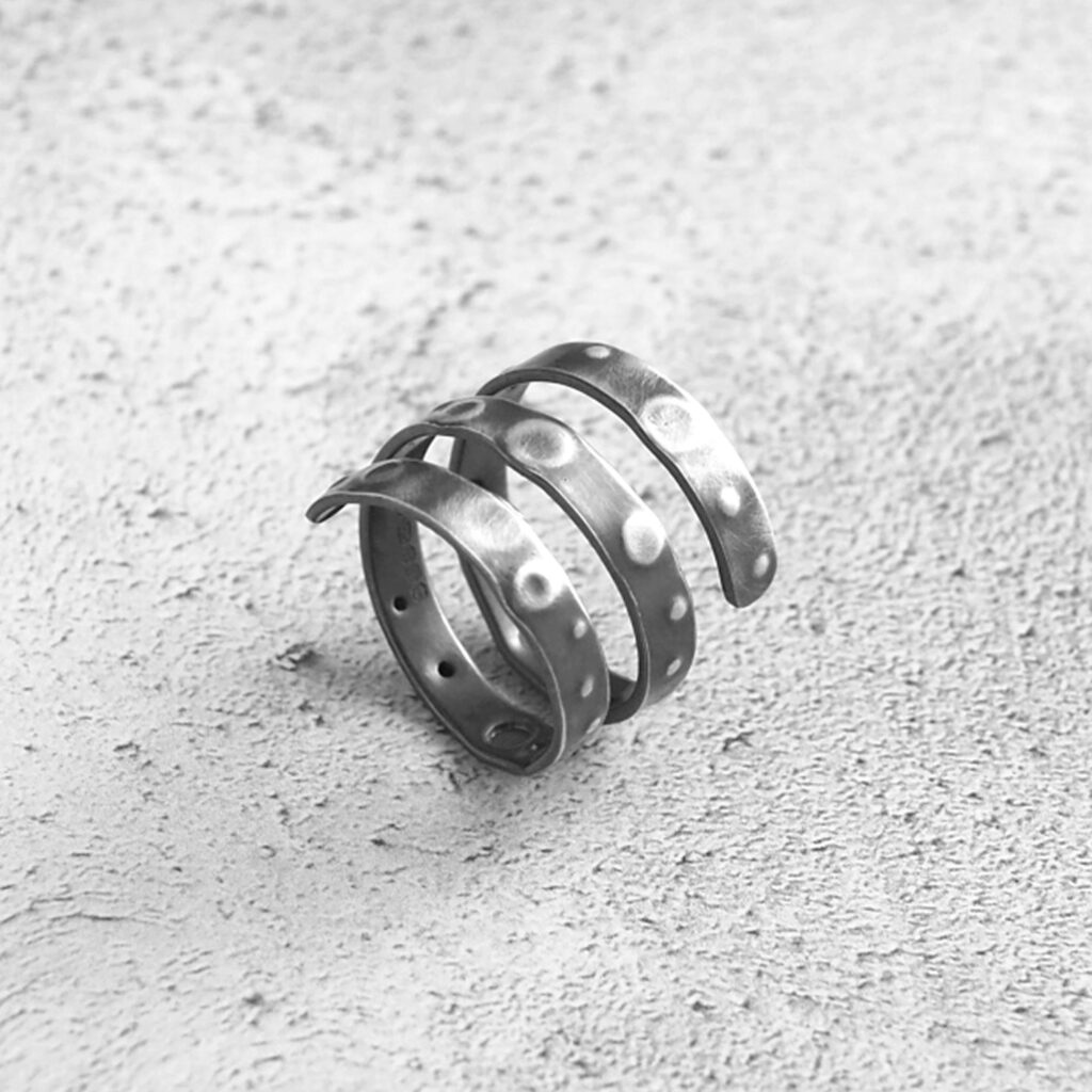 Echoes Collection - Urchin Ring Band