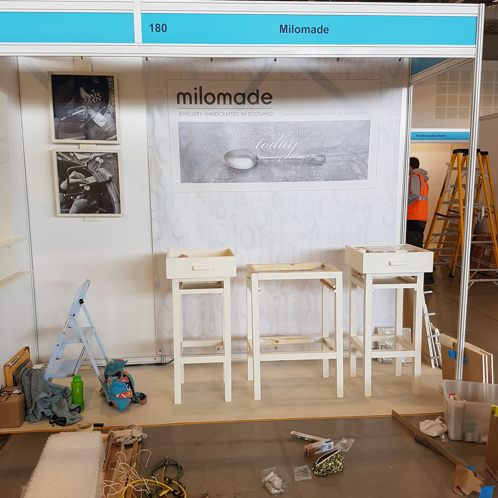 Milomade at the Bristish Craft Trade Fair 2019