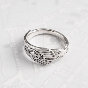 Milomade Antique Silverware Spoon Ring - Made by Evie Milo #TheSpoonLady - Péagóg - Sheffield 1899/1901