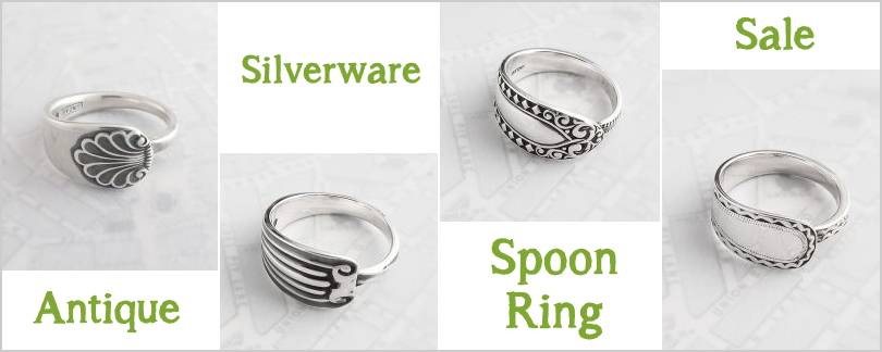 Christmas Spoon Ring Sale