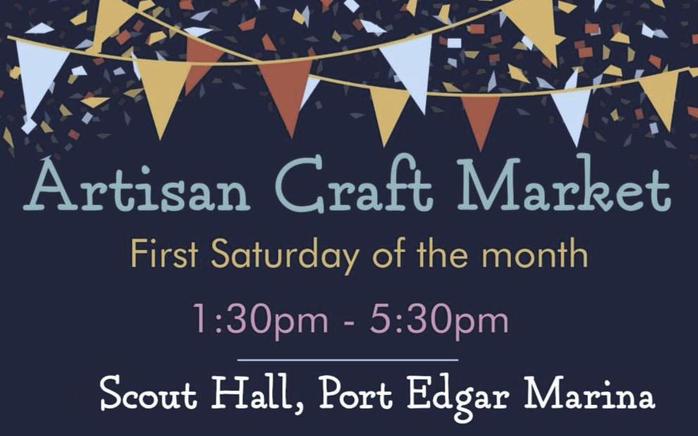 Artisan Craft Market, Scout Hall, Port Edgar Marina