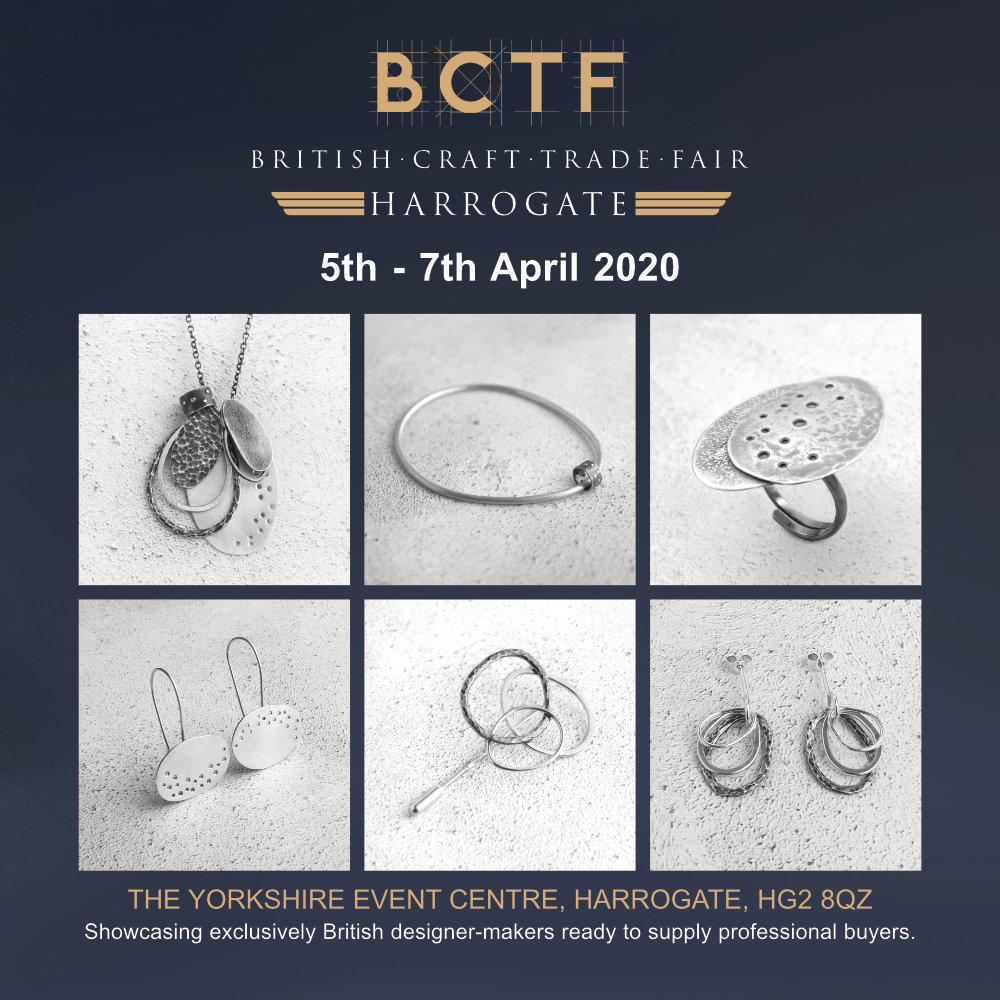 Evie Milo t/a Milomade will be at the British Craft Trade Fair in April 2020