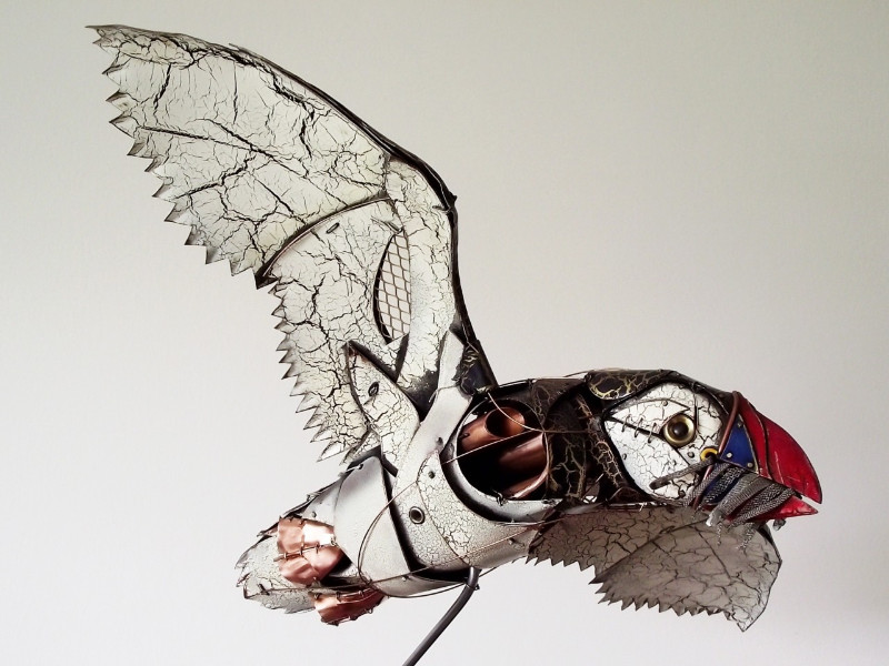 #FridayFaves - Retro-Futurist Animal Sculpture by Ean Dawbarn
