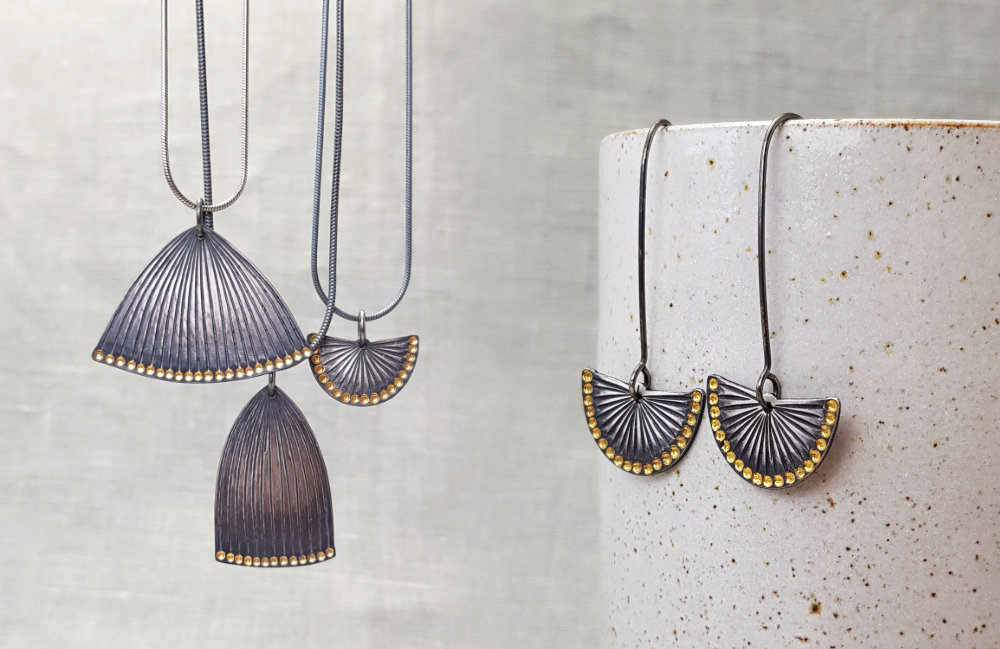 BCTF Shout Out to Helen Shere who makes exquisite jewellery inspired by her surroundings.
