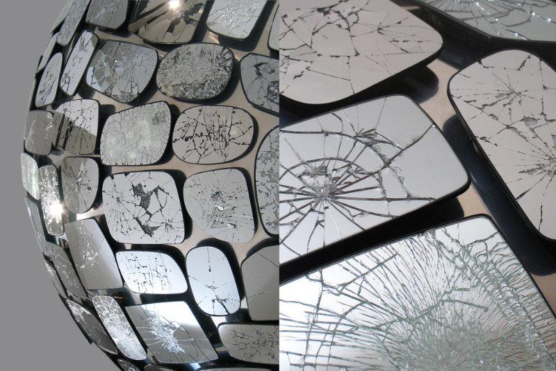 The Work of Stuart Haygarth - Mirror Ball