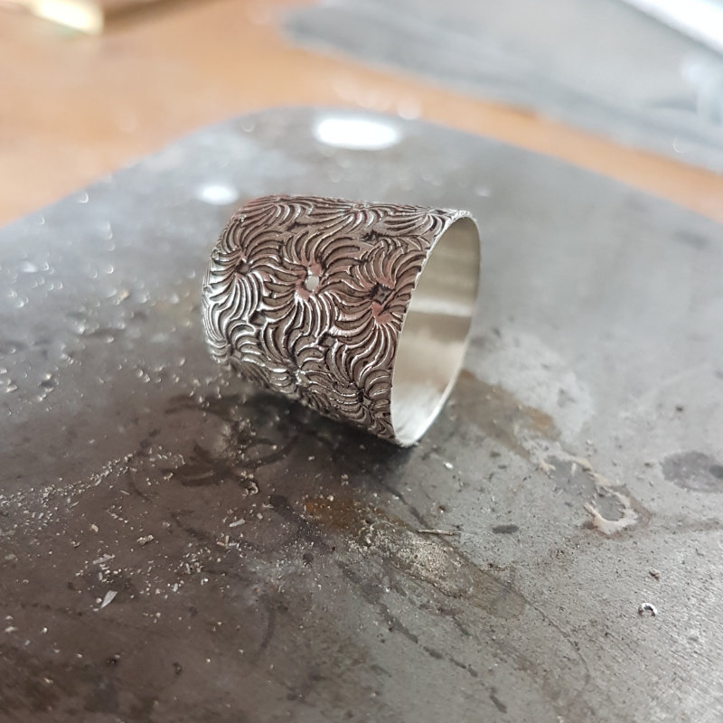 This is the first thimble I worked with.
