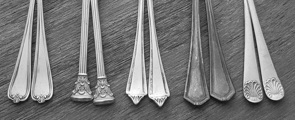 More spoon stems I'm hoping to transform into earrings.
