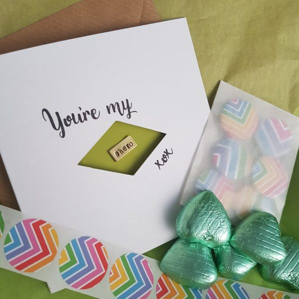 Happy Pin Boxes - You're my Hero #Hashtag Pin