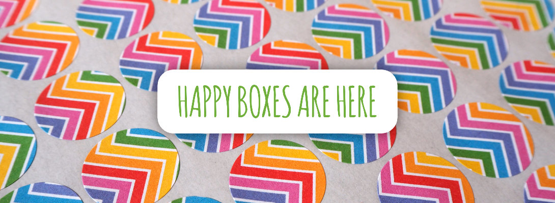 Happy Boxes are available in my online shop now. Full of gorgeous goodness!