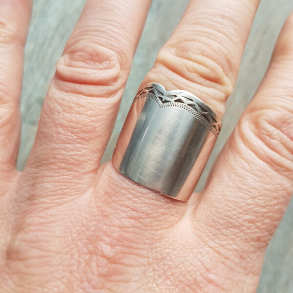 Butter Knife Ring #MakerSupportPledge