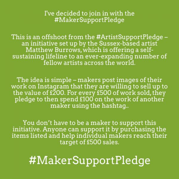 #MakerSupportPledge