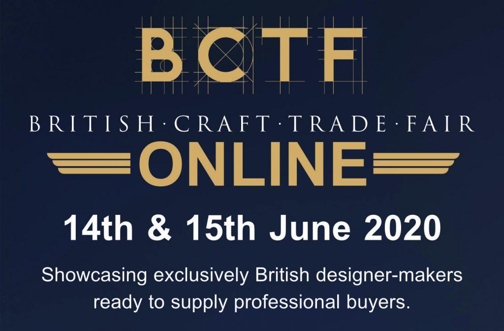 British Craft Trade Fair Online - 14th & 15th June 2020