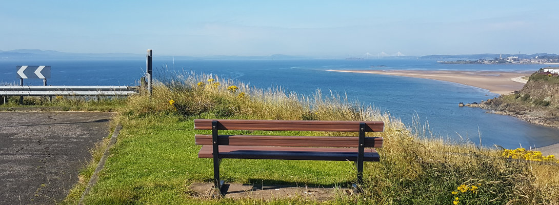 My bench with a view