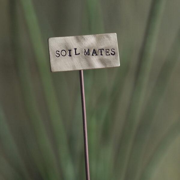 Brass Plant Marker - Soil Mates
