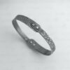 Seashore Bangle with Silver Rivets