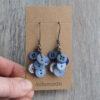 Button Cluster Earrings