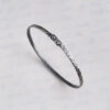 Sterling Silver Rivet Bangle