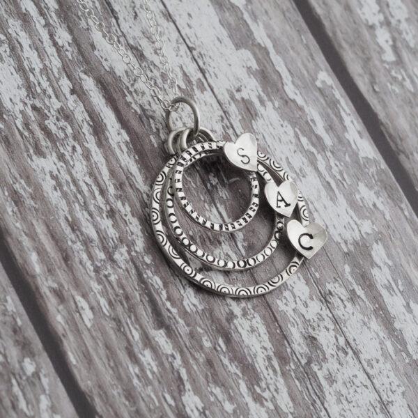 Perrsonalised Jewellery - Personalised Heart Pendant