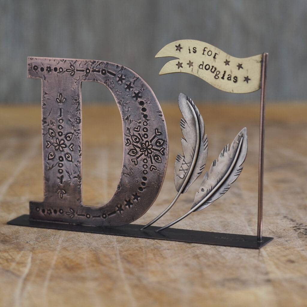 Personalised Name Banner - D is for Douglas