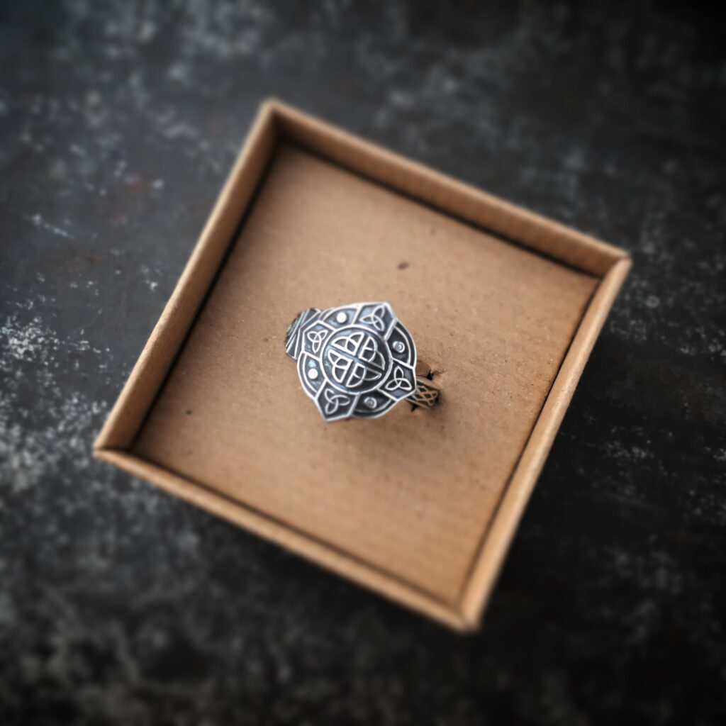 Commission to transform a family heirloom in a beautiful unique ring