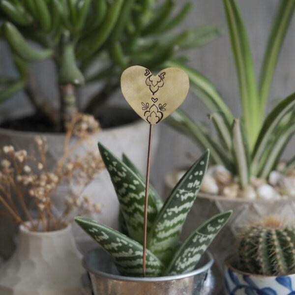 Brass Heart Plant Maker - Mandala