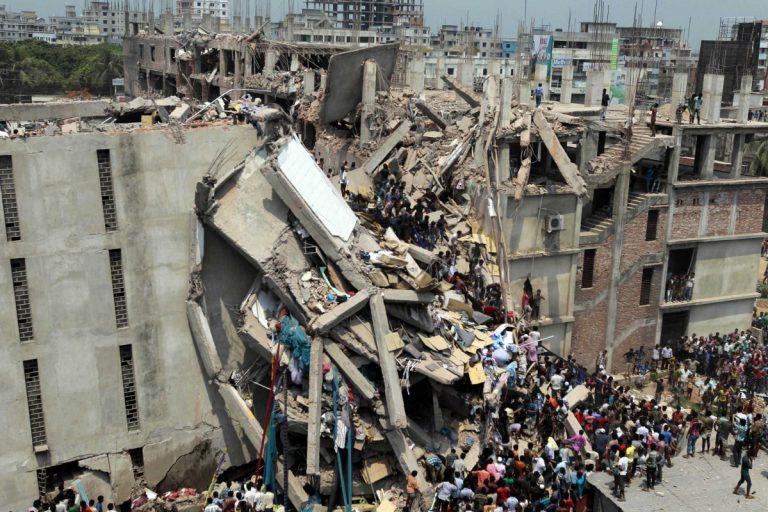 Rana Plaza Building Collapse, April 2013